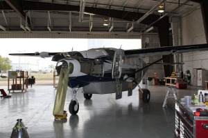 Photo of C208B with prop pulled