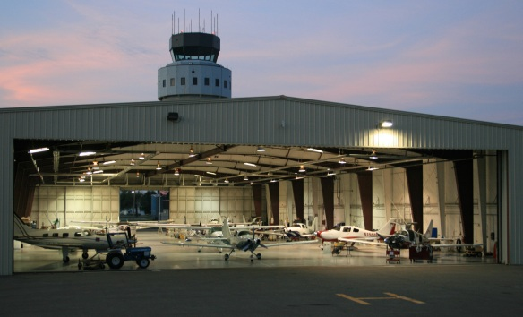 CAV Aerospace hangar