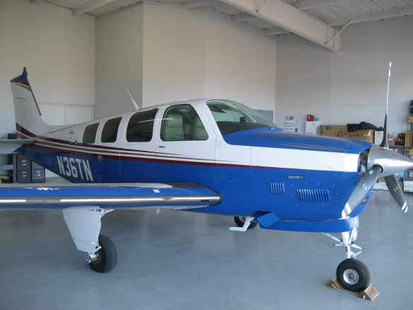 Tim Roehl Beechcraft B36 TC Bonanza.JPG