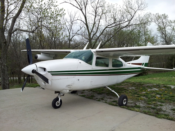 Bryan Wood - Cessna T210M-E