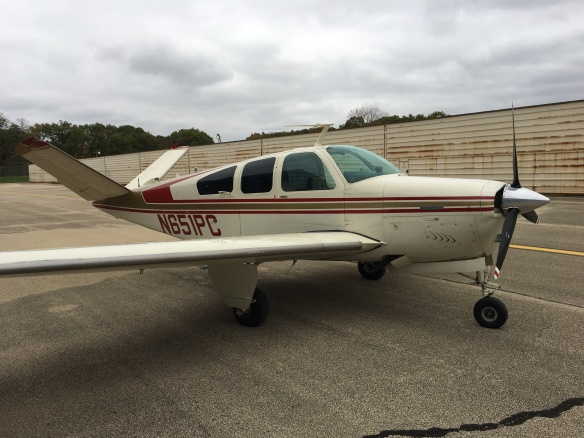 Mark Porto - Beechcraft V35B Bonanza Side