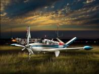 Randal W - Beechcraft V35 Bonanza TKS N1885W