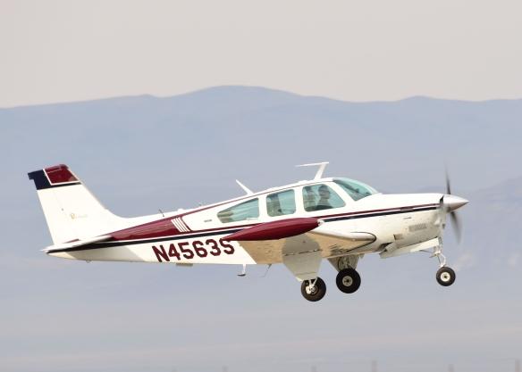 Scott M - Beechcraft F33 Bonanza TKS Inflight N4563S