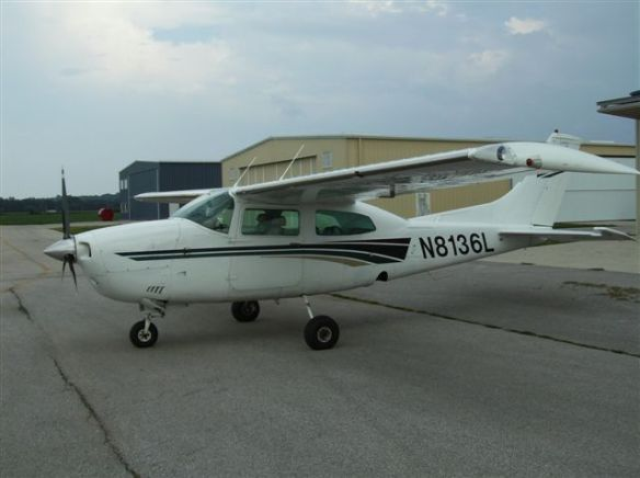 Jim Kickland - Cessna 210L NH